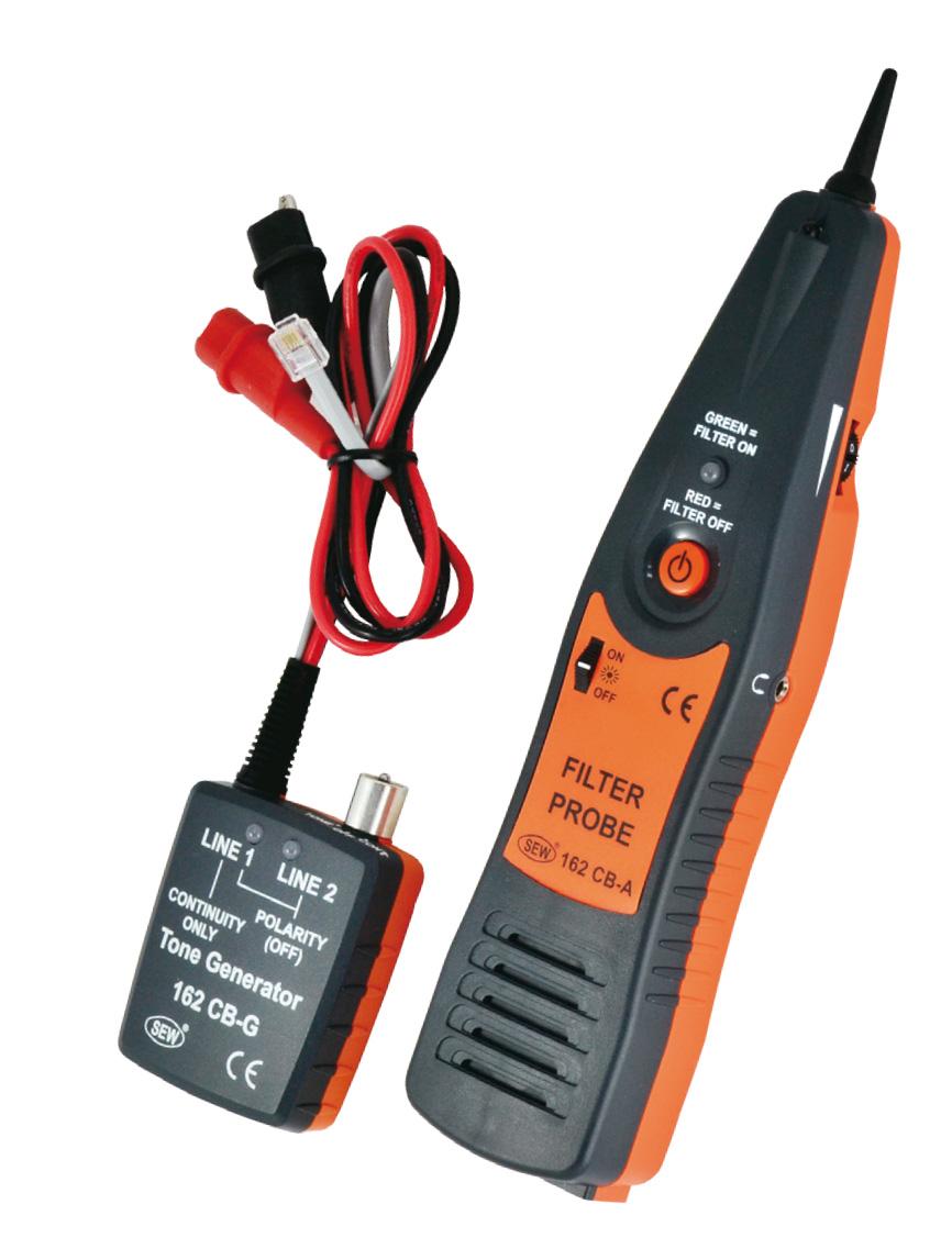 Detector de cable generador de tonos en per sew 162 cb - Detector cables pared ...